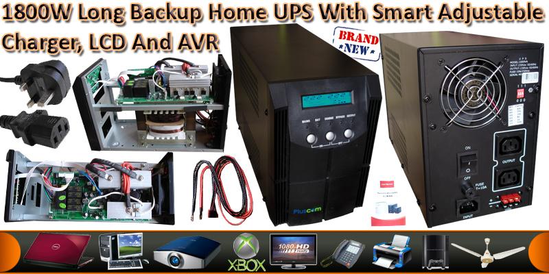 3000VA/1800Watts Pure Sine Wave UPS