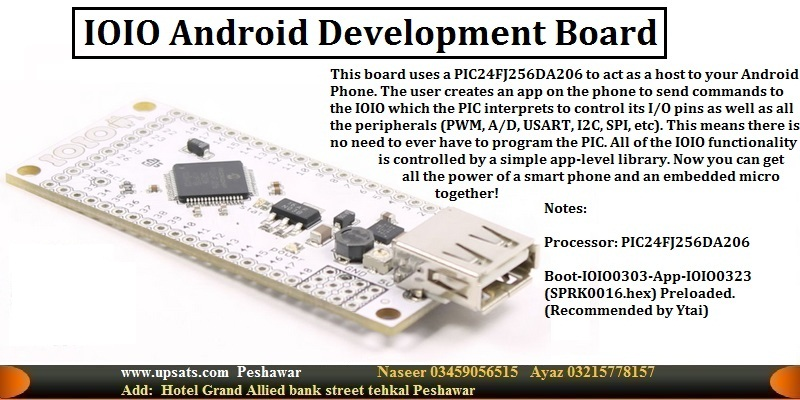 IOIO Android devolpment Board for smart Phone Cont