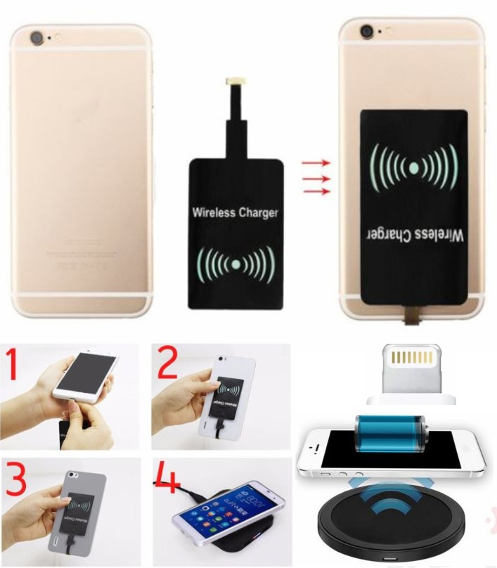 Qi iPhone 6 6 Plus Wireless Charging Receiver iOS