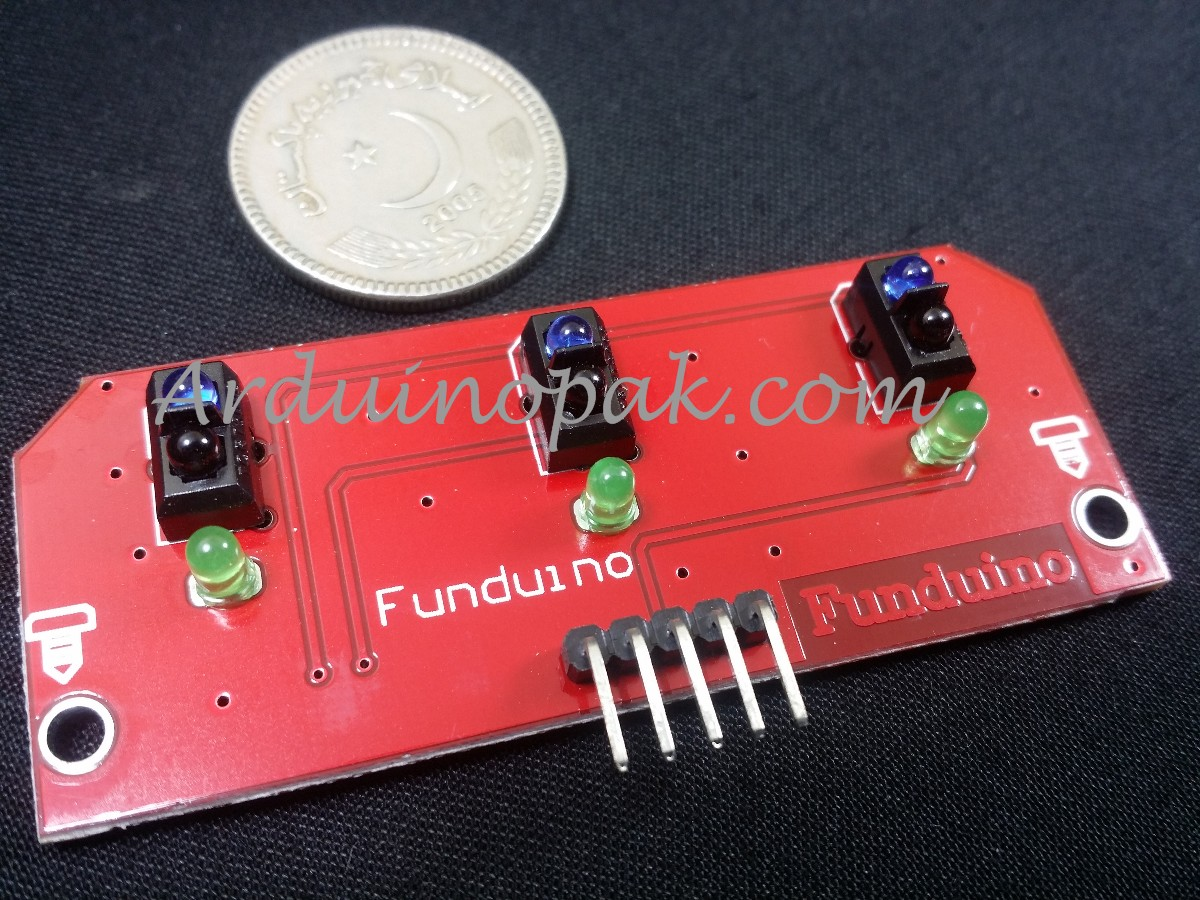 3way InfraRed white line Tracking Sensor module