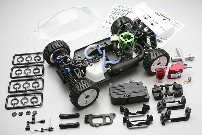 Half-8 mini INFERNO ST 09 4WD ARR KIT nitro kyosho