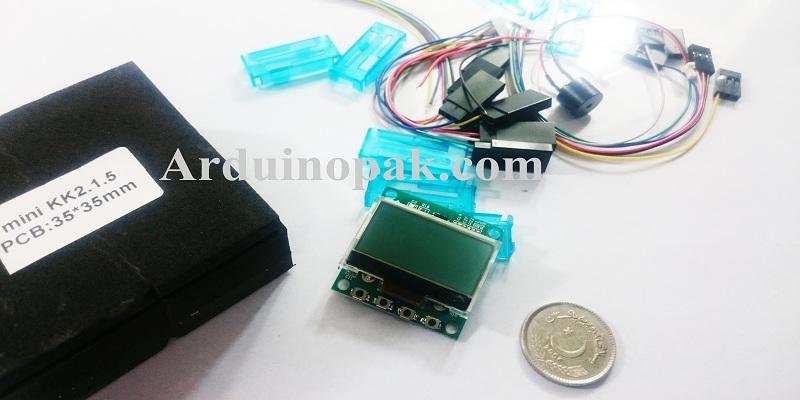 Mini KK2.1.5 Flight Controller with LCD for quadco