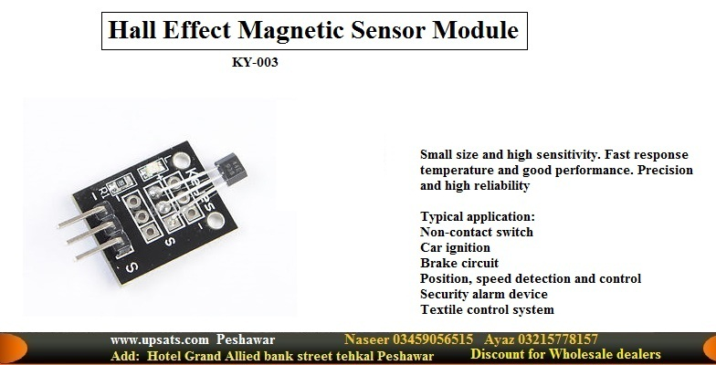 Hall Magnetic Field Sensor Module KY-003