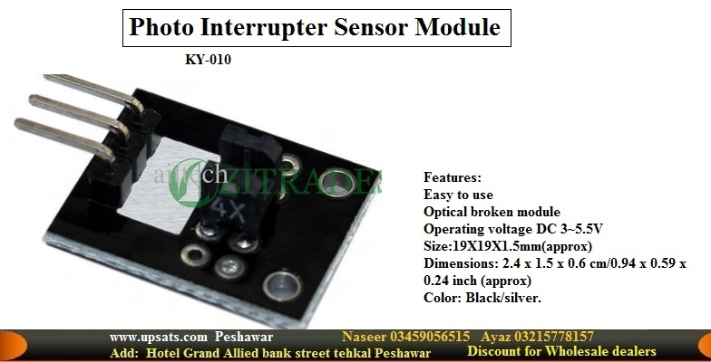 photo interrupter ky 010 module for arduino avr pi