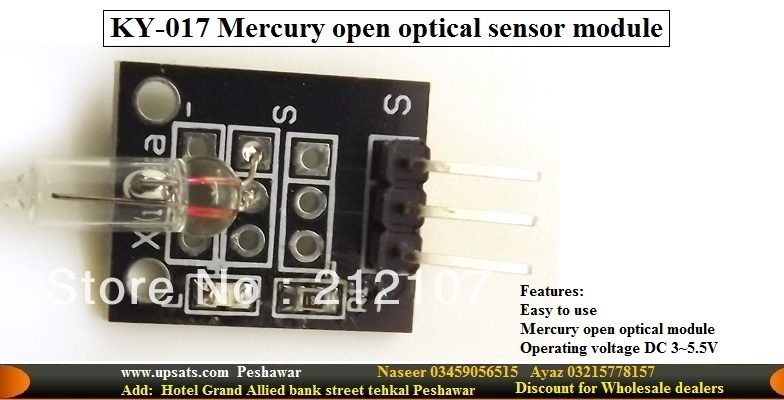 mini mercury switch ball sensor for arduino