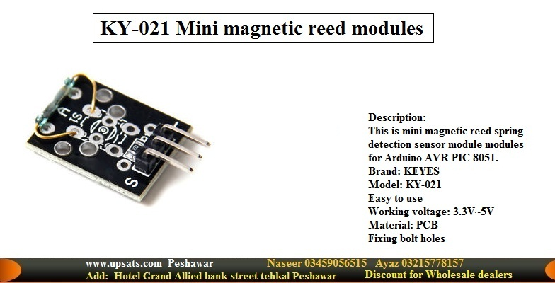 Mini magnetic reed switch modules