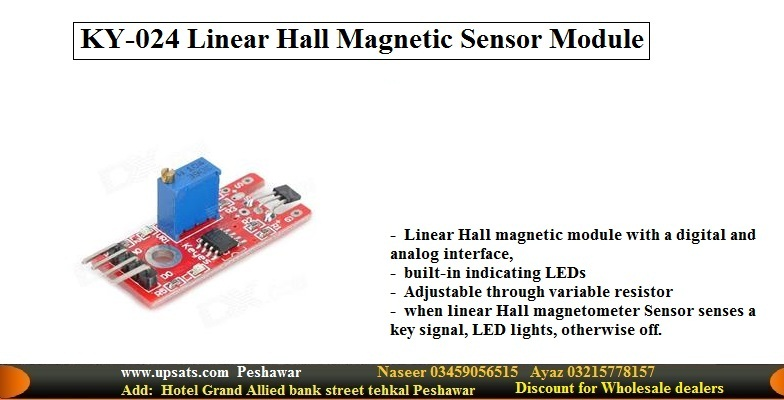 Linear Hall Magnetic sensor Module KY-024