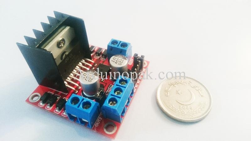 L298N Dual H Bridge Motor Driver Controller Board