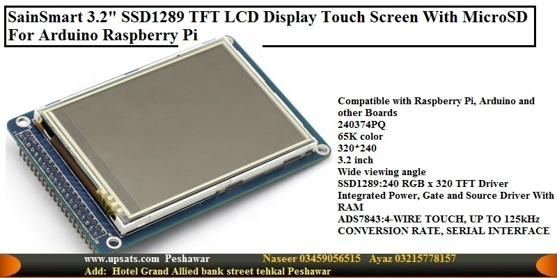 "SainSmart 3.2""SSD1289 TFT LCD Display Touch Screen"
