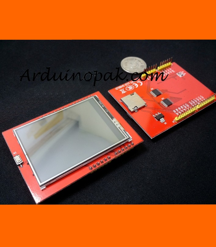 "2.4"" TFT Touch LCD Shield Display TF card"