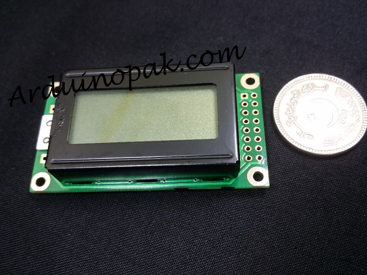 8x2 Characters LCD display Module