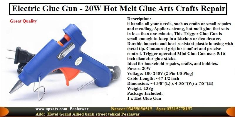 110v-240V Jumbo Hot Melt Glue Gun HL-E20W