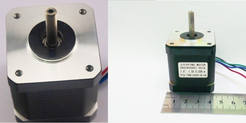 42 Step Stepper Motor 18 degrees 1.5A 0.55 3D prin