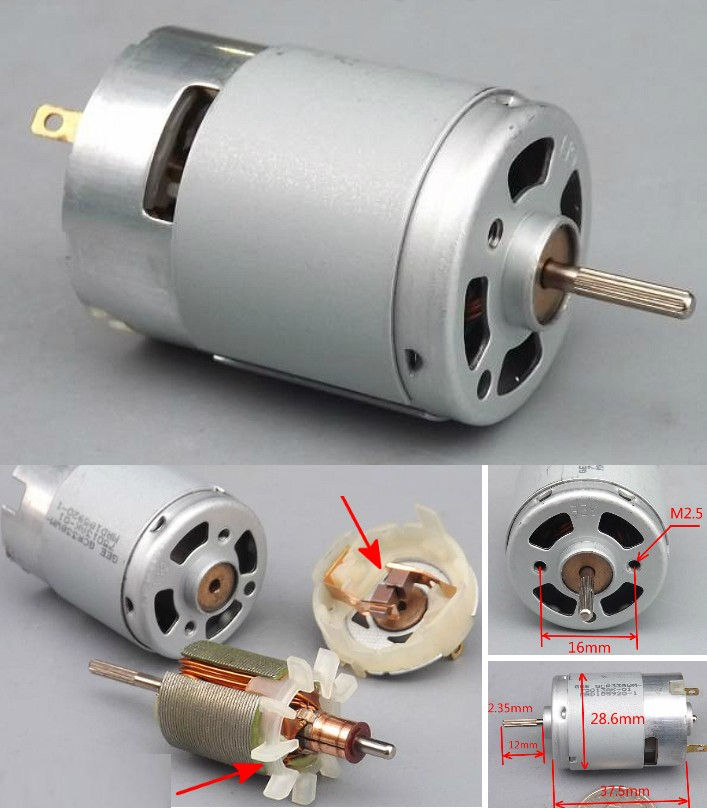 380 high power 5-9V DC motor 46000 RPM