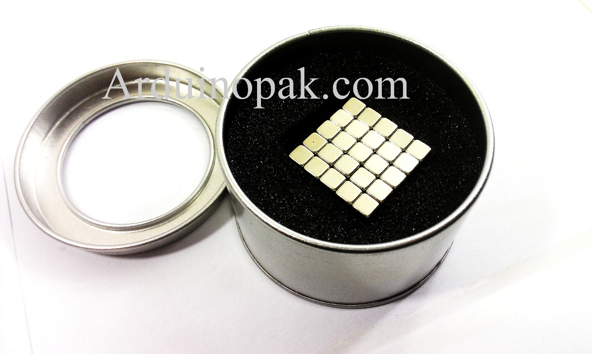 Magnet Square   0.25inch