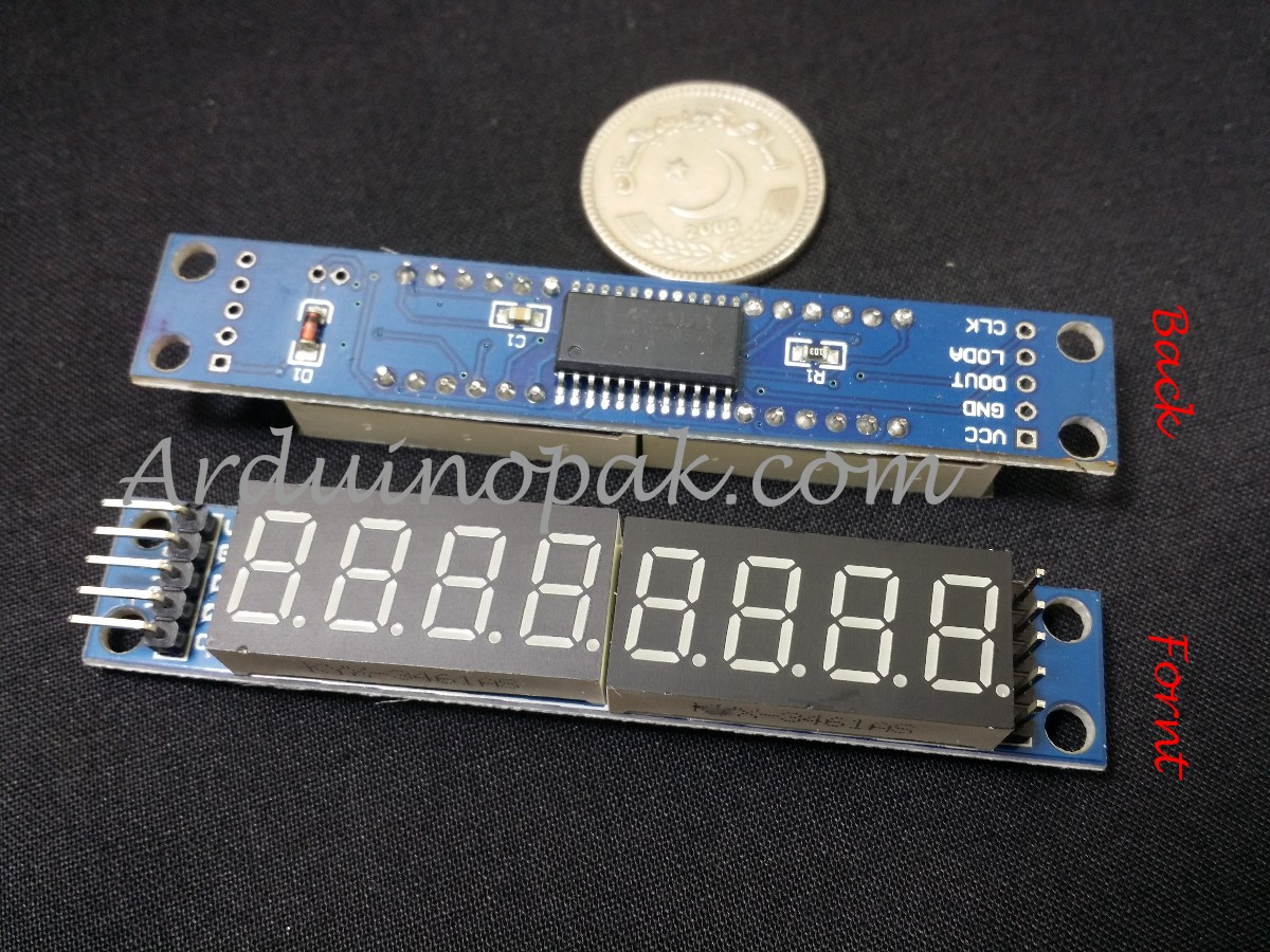 MAX7219 8 Digit 7 Segment Display Module