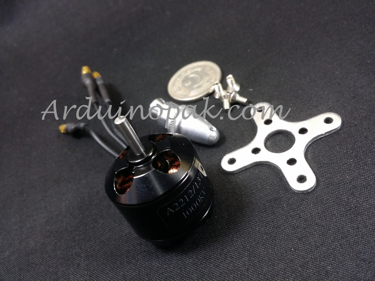 A2212 1000KV Outrunner Bruhless motor + Parts