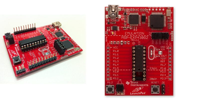 MSP-430 LaunchPad Experimenter Board