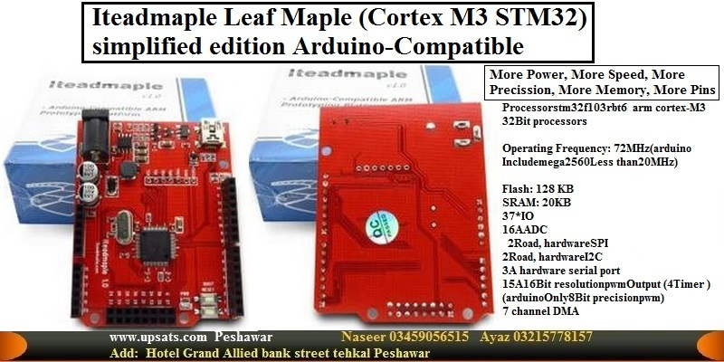 Arduino Leaf Maple 72 Mhz 128 KB 32 Bit processor