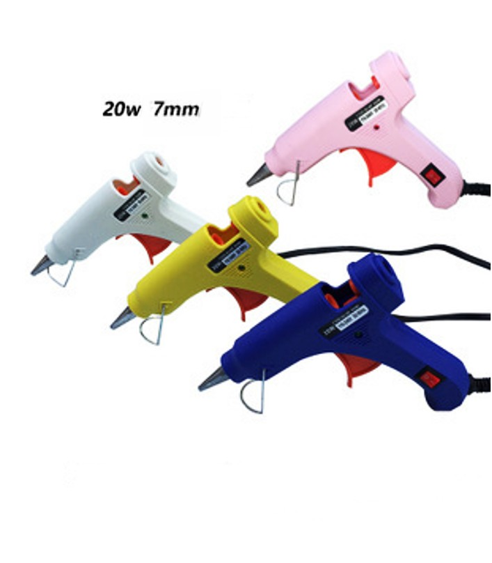 Hot melting pistol glue gun 220AC 20W