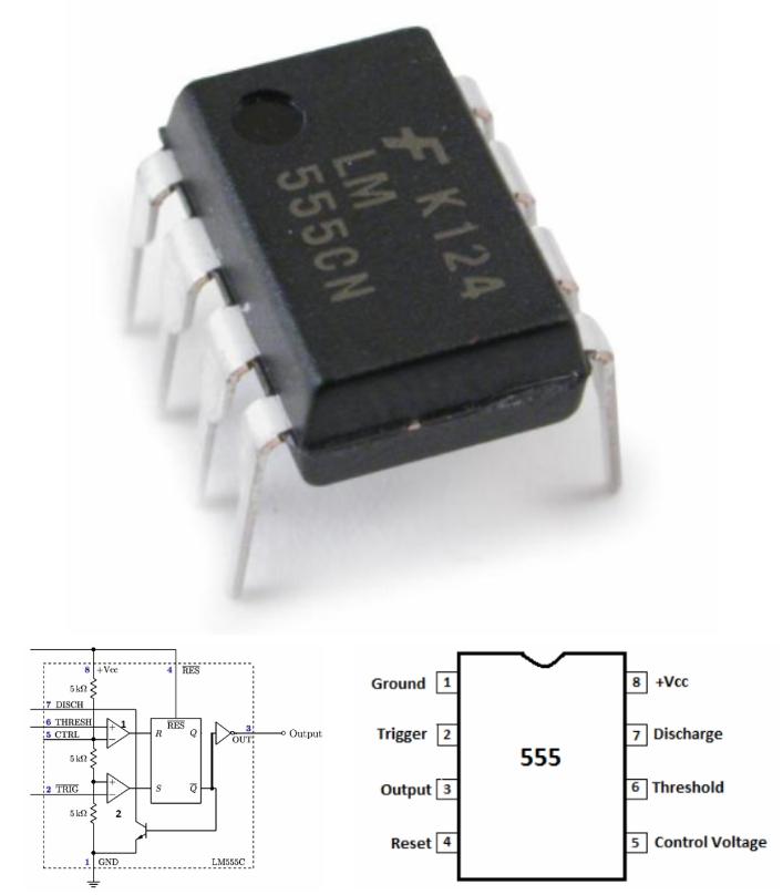 NE555 Timer IC DIP