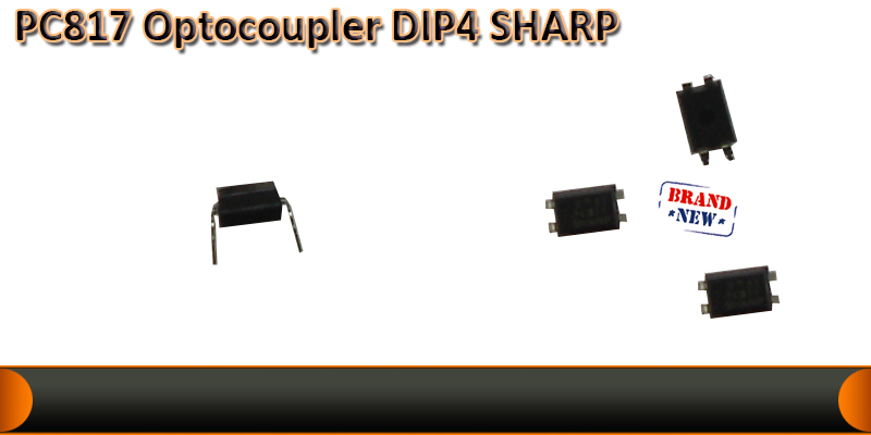Opto-coupler PC817B DIP4 IC