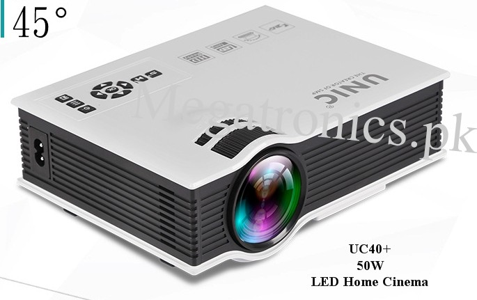 Projector UC40+ 2000 Lumens HD 1080P Home Theater