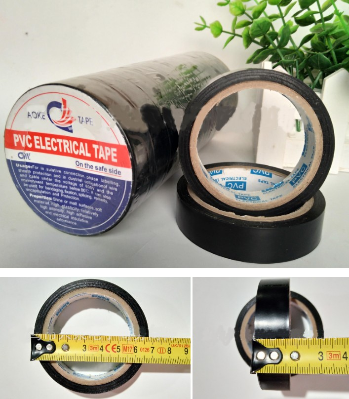 PVC Electrical insulation tape 18mm 7 meter