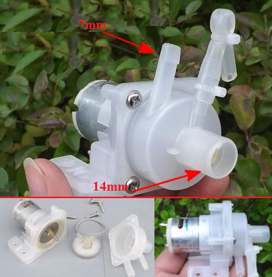 9V-12V DC water pump motor DIY projects