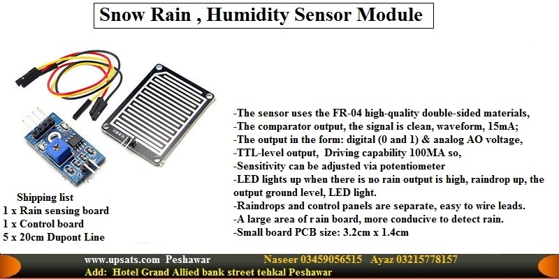 water moister Rain Detection sensor module