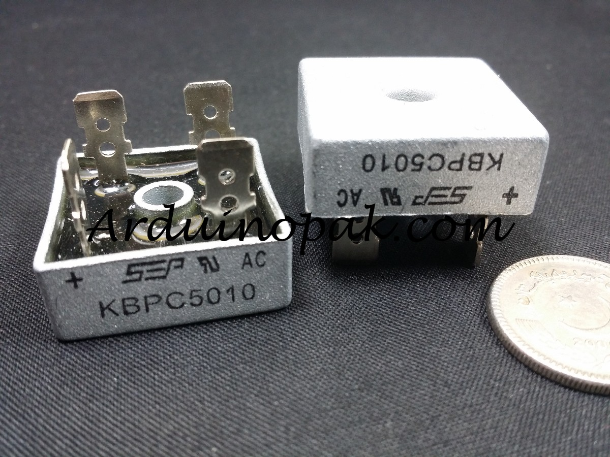 KBPC5010 50A 1000V Bridge Rectifier