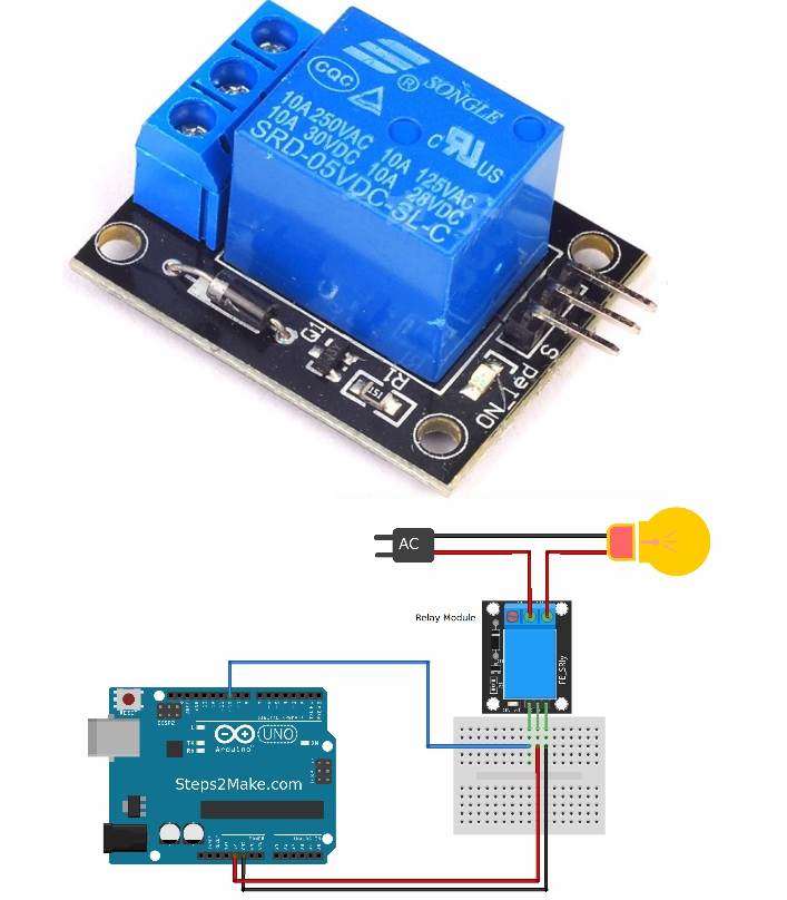 5V Relay Module for Arduino PIC 8051
