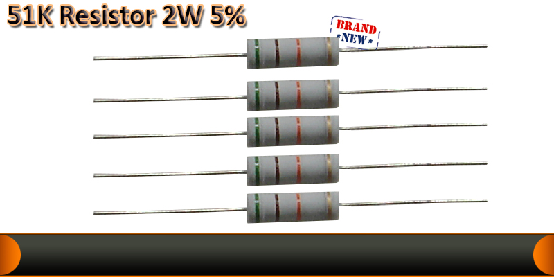 2W  5%  resistor   51K