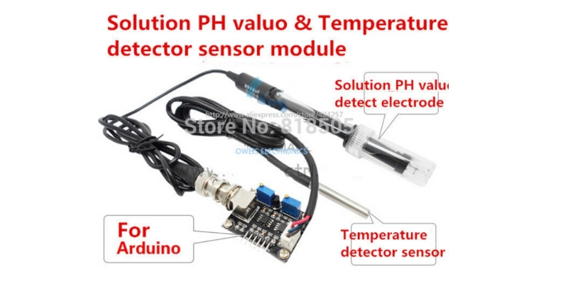 pH Sensor Kit Arduino upgrade PH value detection