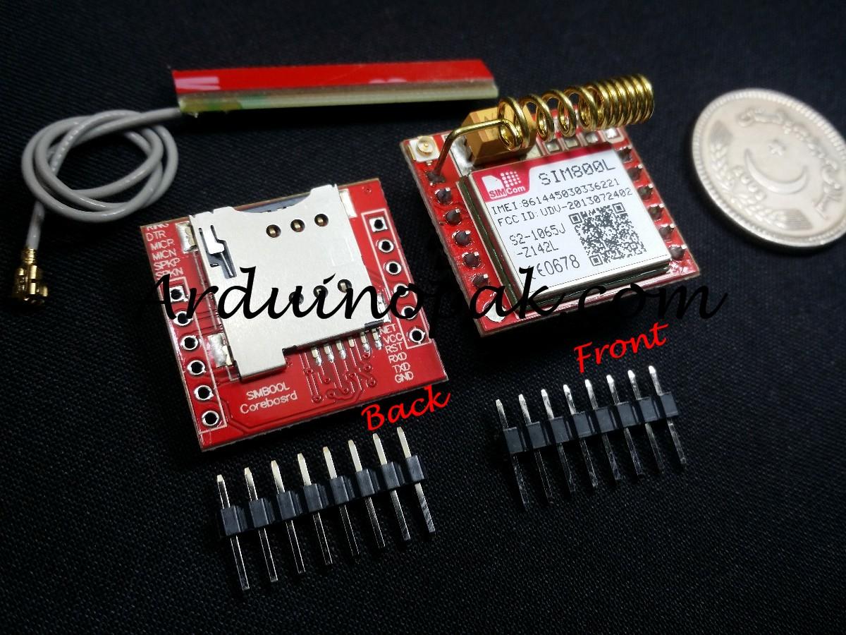 SIM800L GPRS GSM Module MicroSIM (Not Registered)