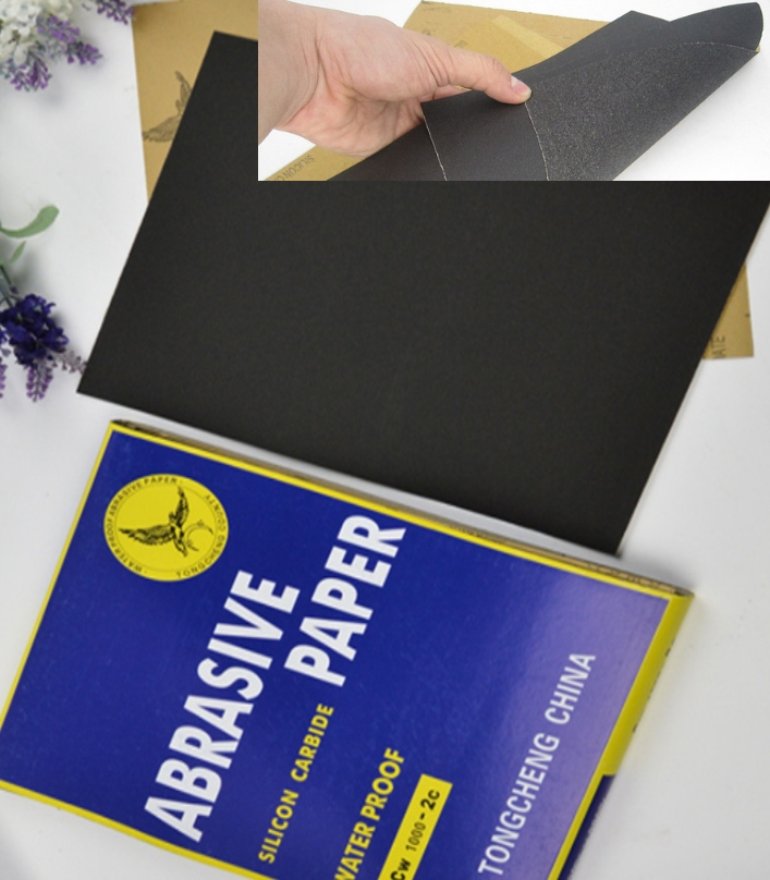 CW800-2C Sand paper abrasive paper Silicon Carbide