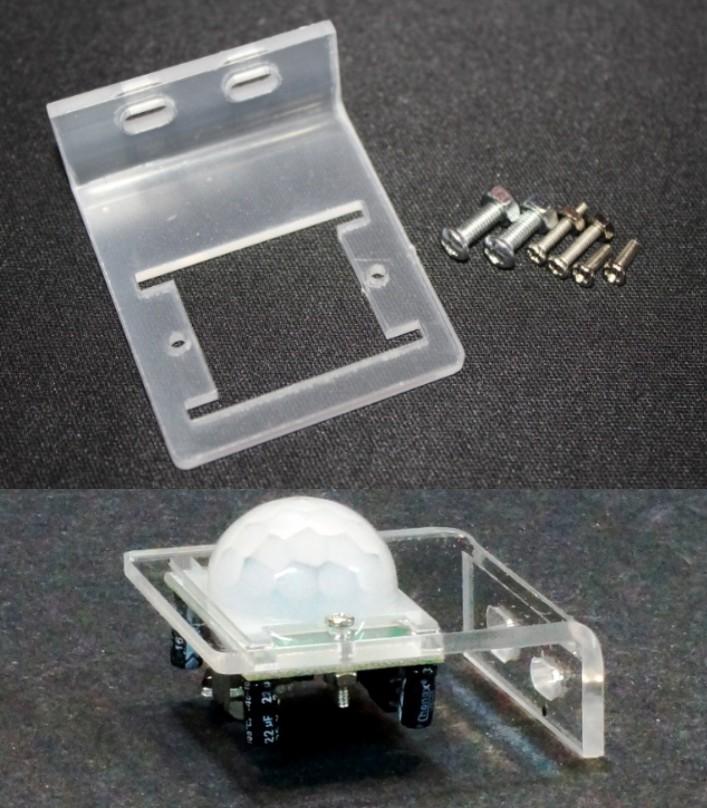 HC-SR501 PIR Sensor Mounting Bracket