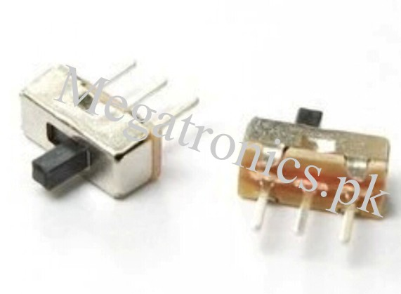SS12D00 4mm 3 Pin SPDT 1P2T 2 Position Slide Switc