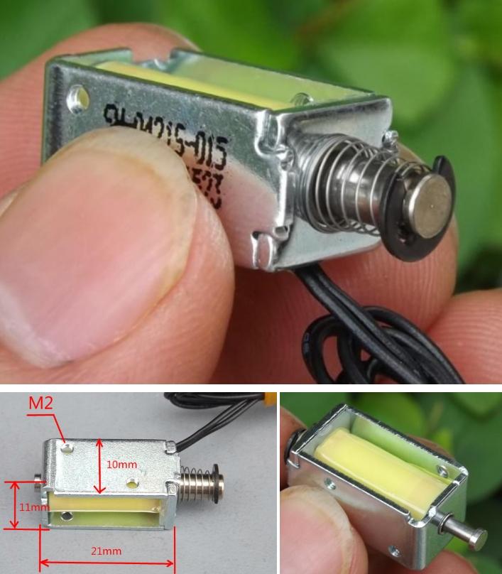 Push-pull solenoid electromagnet DC12V micro strok