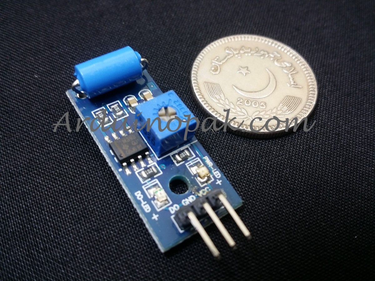 SW-420 Normally Closed Alarm Vibration Sensor Modu