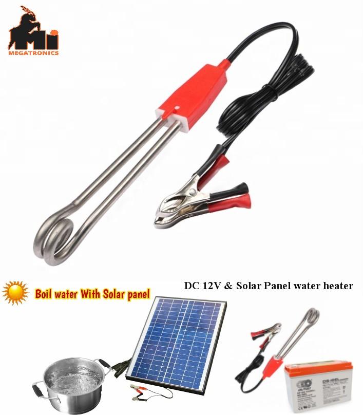 DC 12V Battery Solar 150W Water Heater Rod for Bat