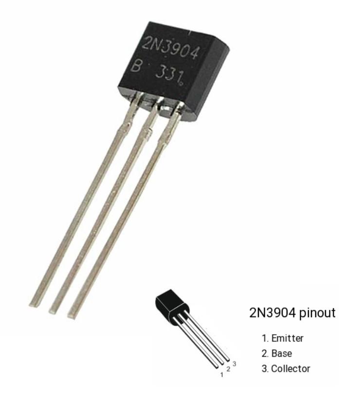 2N3904 NPN Bipolar Transistor