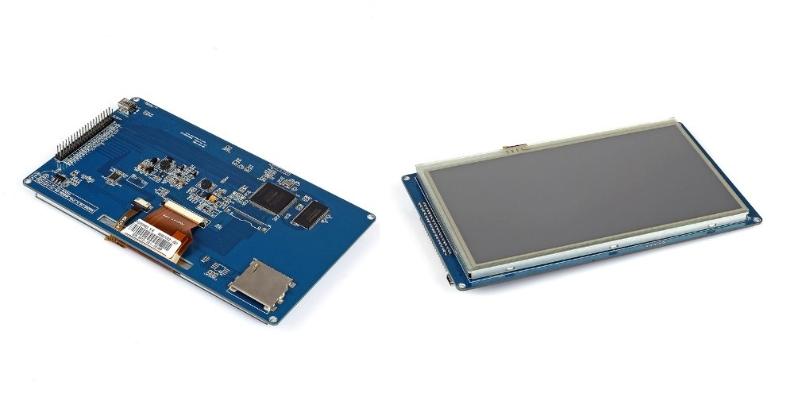 """TFT LCD TLCD-7in 7"""" inch  module 800x480 SSD1963 w"""