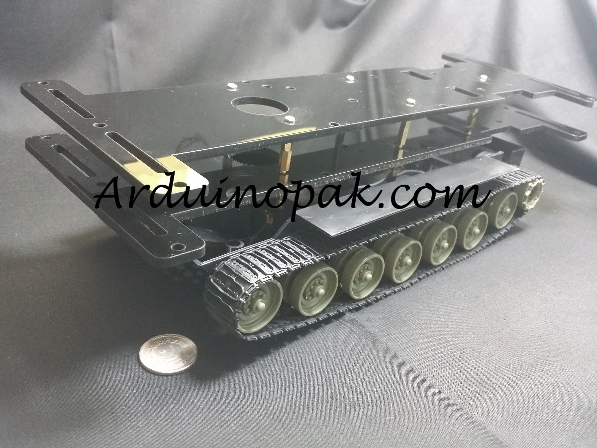 tracked tank robot smart chassis Robot kit with ge