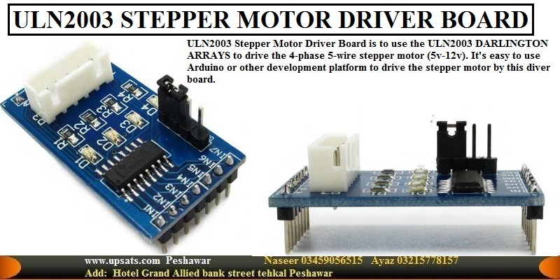 ULN2003 Relay & STEPPER MOTOR DRIVER BOARD