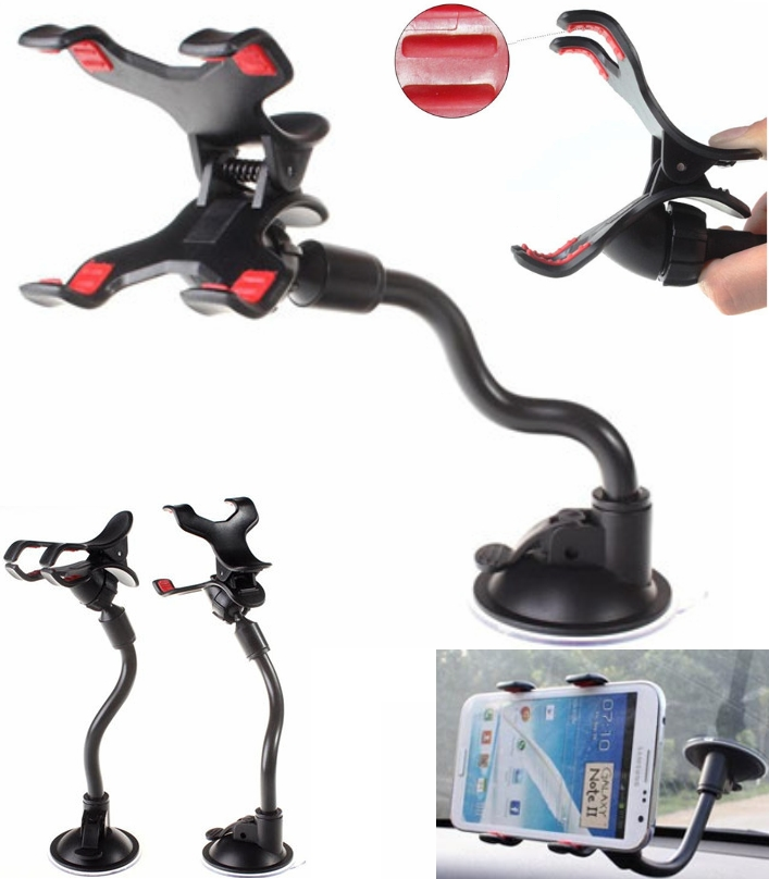 universal Car phone holder soft 360 bracket car  m