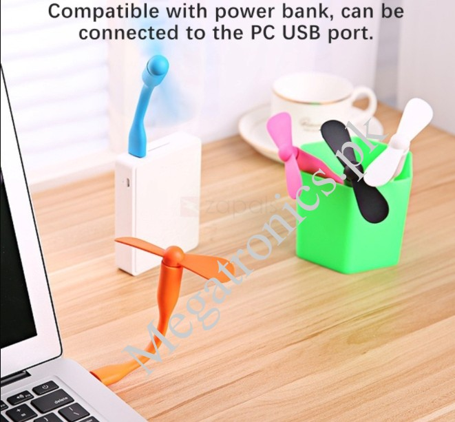 Portable USB Large Wind Cooling Fan flexible