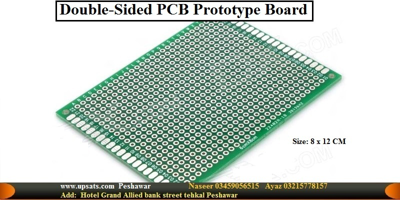 8cm x 12cm Double-sided Solderable Prototype PCB B