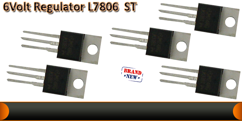LM7806 Voltage regulator IC