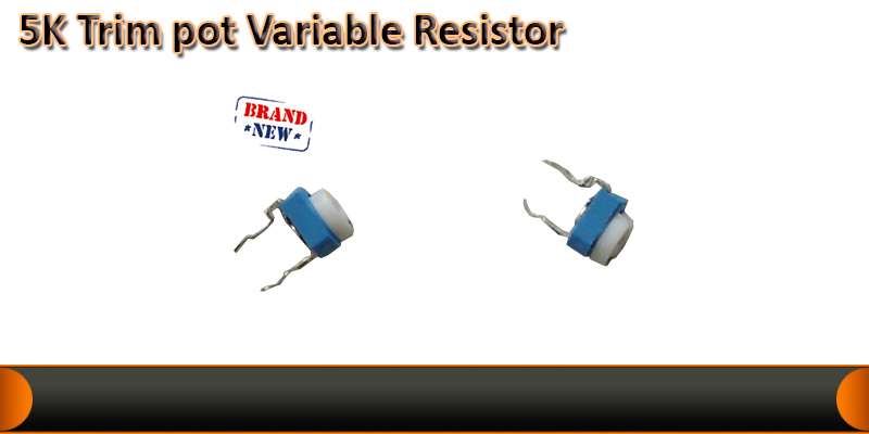 5K Variable resistor potentiometer